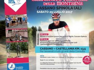 Cronoscalata Cassano Spinola - Castellania