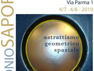 Astrattismo Geometrico Spaziale - Mostra di Antonio Saporito