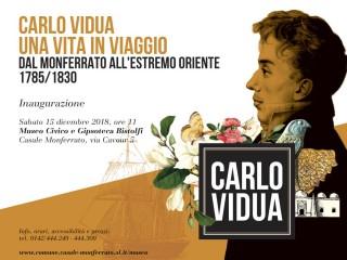 Carlo Vidua. Une vie en voyage, du Montferrat à l'Extrême-Orient (1785-1830)