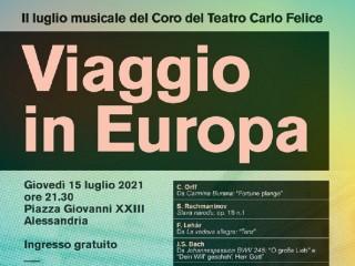 Viaggio in Europa - Coro del Carlo Felice