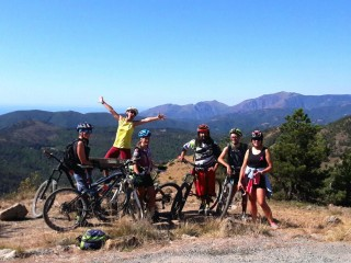 MTB outing in the Capanne di Marcarolo Park