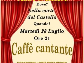 Caffè cantante - Teatro del Rimbombo