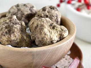 Foire aux fruits d'automne : Truffes et cèpes