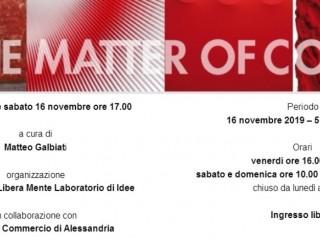 IN THE MATTER OF COLOR - Mostra di arte contemporanea