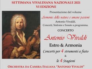 Settimana Vivaldiana Nazionale 2021 ad OCCIMIANO