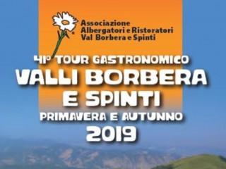 41° TOUR GASTRONOMICO TRA LE VALLI BORBERA E SPINTI - AUTUNNO