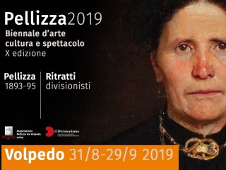 Pellizza 1893-95. Divisionist portraits