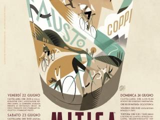 VII edition of La MITICA Ciclostorica with Vintage Bikes for the Colli di Serse and Fausto Coppi