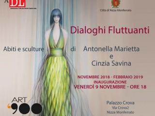 """Mostra """"Dialoghi Fluttuanti"""" - Galleria Art '900"""