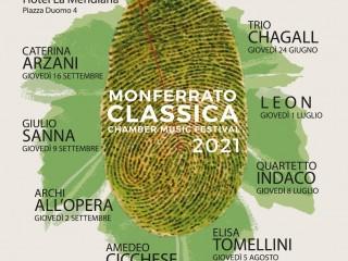 MONFERRATO CLASSICA CHAMBER MUSIC FESTIVAL 2021
