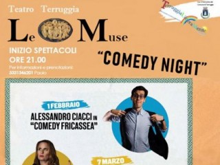 Stand up comedy - Comedy Night. VERIFICARE GLI AGGIORNAMENTI DI DATA