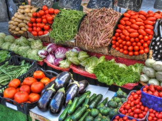 Food and farmers' markets in Alessandria