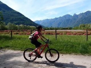 Ciclovia del Toce: in bici tra i fiori