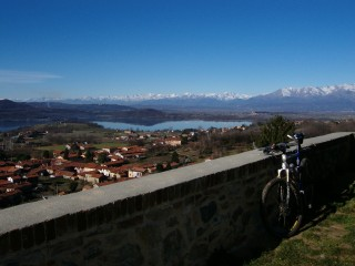 Autour du lac de Viverone