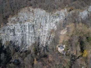 Falesia di Ara - Parete di arrampicata